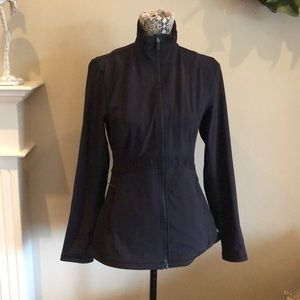 Lululemon 8 black zip up jacket